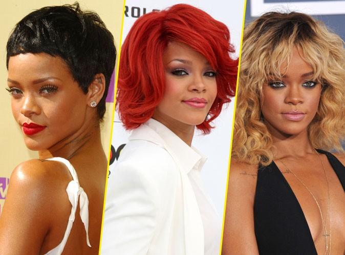 Rihanna a 26 ans aujourd'hui, retour en images sur 26 de ses changements capillaires !