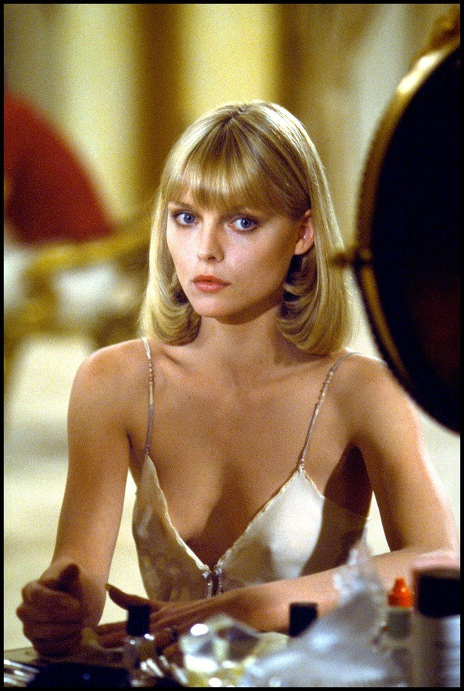 "Michelle Pfeiffer dans le film ""Scarface"" (1983)"