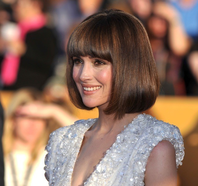 Rose Byrne aux Screen Actors Guild Awards avec sa nouvelle coupe carrée