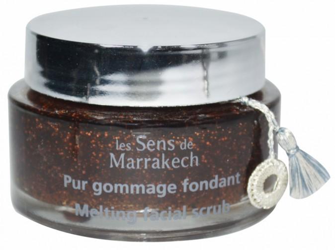 Pur gommage fondant visage, Les Sens de Marrakech. 33 €.