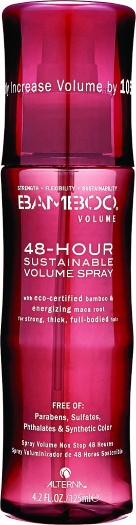 Spray 48-Hour Bamboo Volume, Alterna. 29 € (en exclusivité chez Sephora).