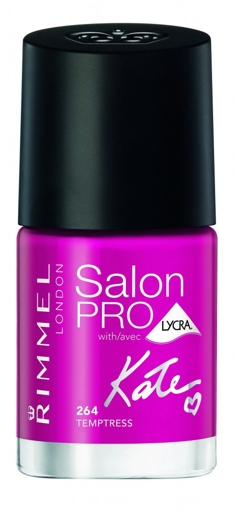 Vernis Salon Pro by Kate, N° 264 Temptress, Rimmel. 7,95 €.