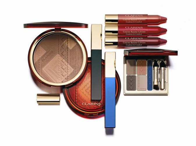 Palettes Ombres & Liner, Colours of Brazil, Clarins 44 €