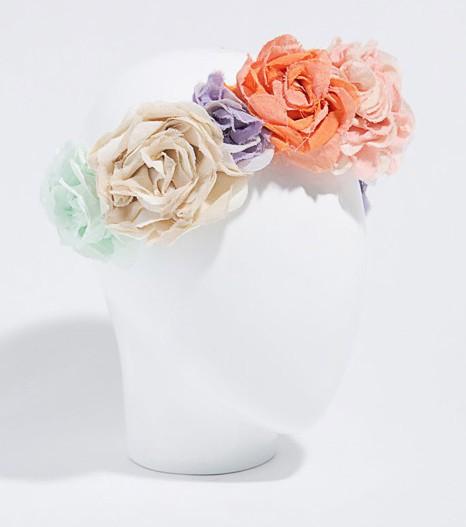 Serre-tête fleurs, Zara 22,95€