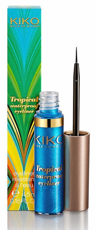 Tropical Waterproof Eye-liner, Kiko 5,50 €