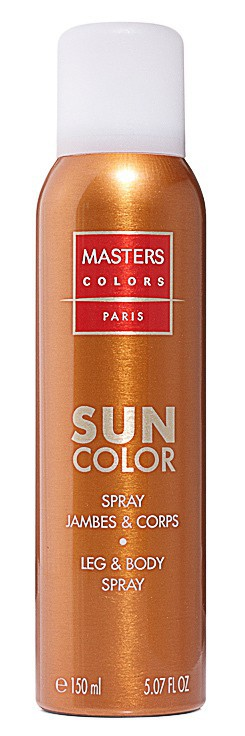Spray autobronzant jambes et corps, Sun Color, Masters colors 26 €