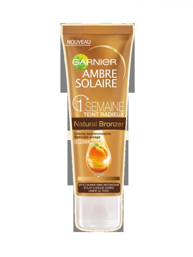 Crème autobronzante, Natural Bronzer Garnier 9,90€