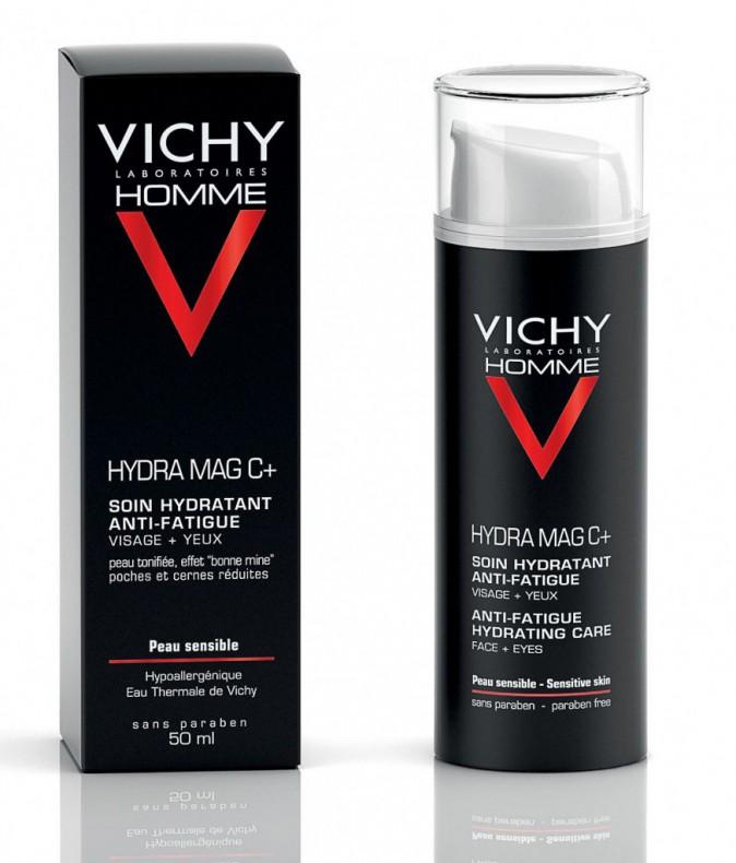 Soin hydratant anti-fatigue, Vichy Homme 16 €