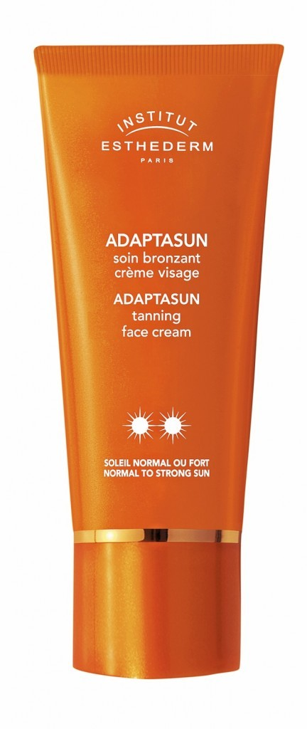 Soin bronzant crème visage Gamme Adaptasun, Esthederm 39,80 €