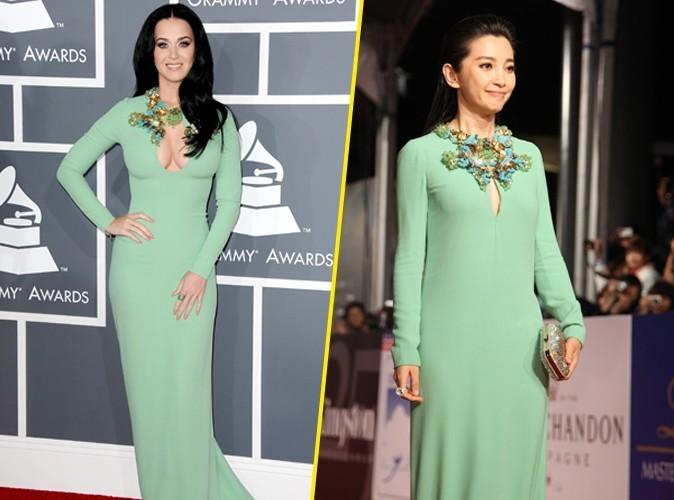 De Bingbing Li ou Katy Perry, qui porte le mieux la robe Gucci ?