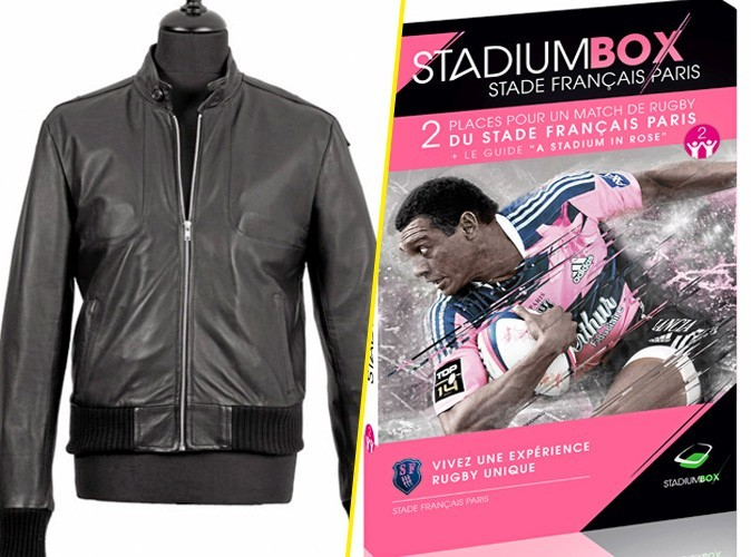 Veste en cuir le Quai des Francs-Bourgeois / Stadium BoxStade Français