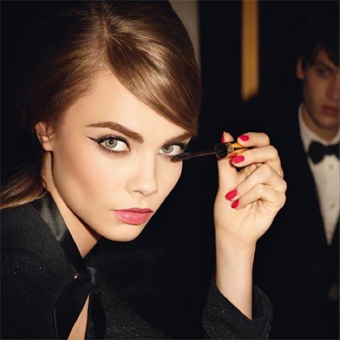 La photo de la campagne YSL que Cara dévoile sur Instagram