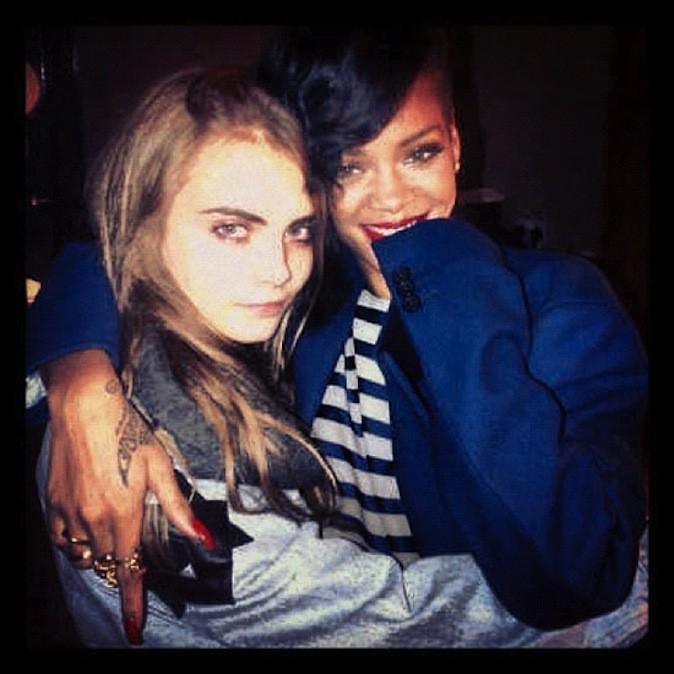 Cara Delevingne et Rihanna