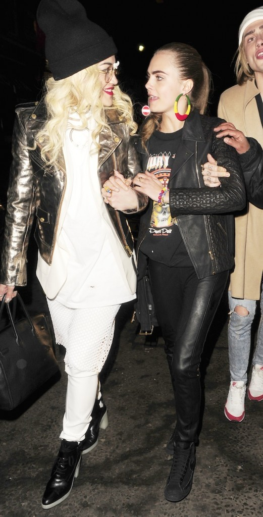 Cara Delevingne et Rita Ora
