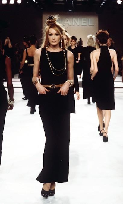 Carla Bruni pour Chanel