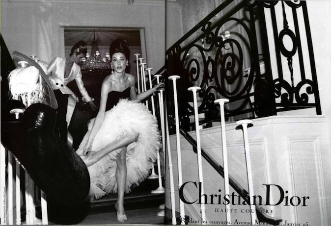 Carla Bruni pour Christian Dior