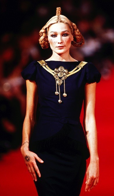 Carla Bruni pour Givenchy