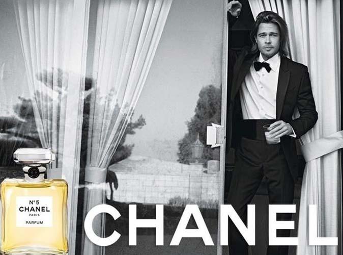 Brad Pitt dans sa première pub pour Chanel N°5
