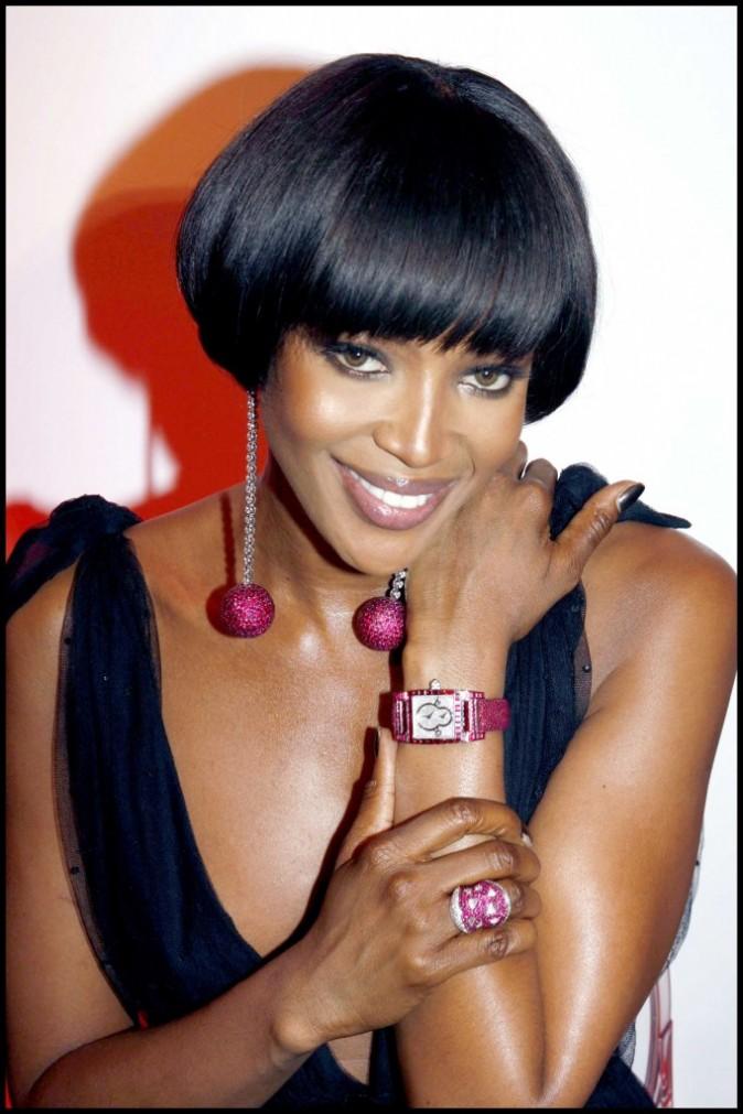 2007 : le top modèle Naomi Campbell est à la pointe de la mode