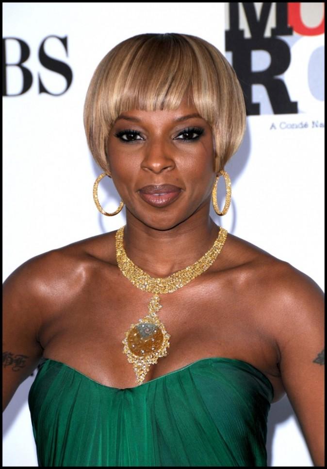 2007 : Mary J. Blige adepte des coupes tendances