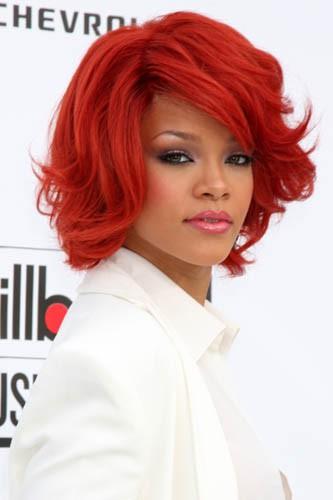 Le rouge vif de Rihanna à l'époque de LOUD !