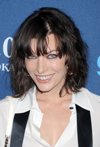 Milla Jovovich version wavy
