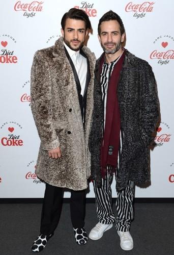 Harry Louis et Marc Jacobs