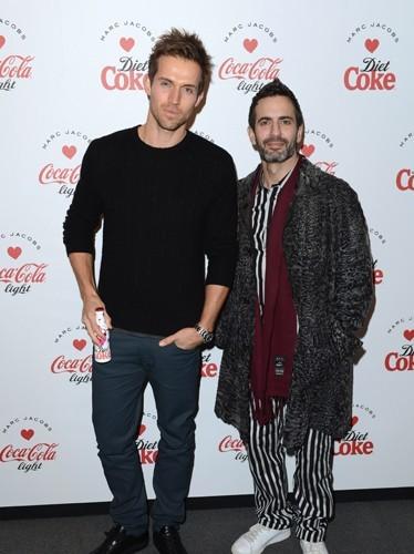 Marc Jacobs et Andrew Cooper