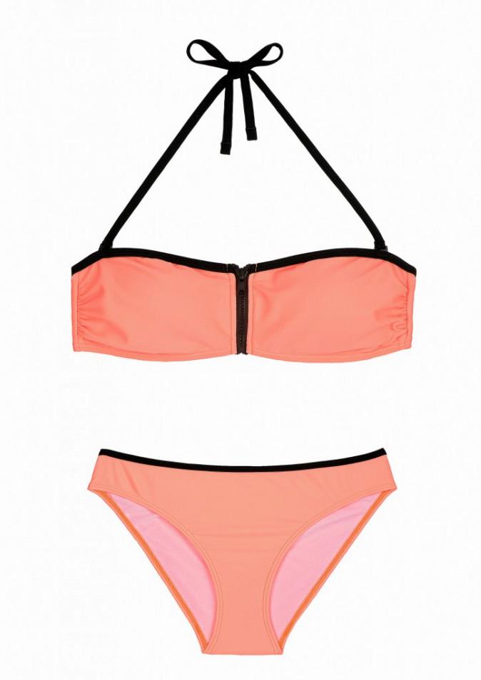 Bikini à zip, C&A, 25€