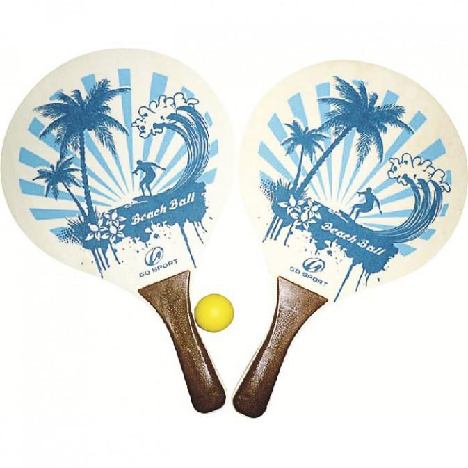 Raquettes de plage, Go Sport, 5€