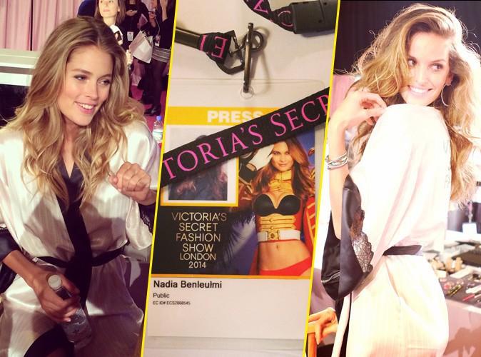Victoria's Secret Fashion Show 2014 : l'effervescence des backstage avec Doutzen Kroes, Izabel Goulart, Adriana Lima... On y était !