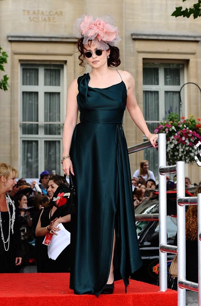 Helena Bonham-Carter à l'avant première d'Harry Potter