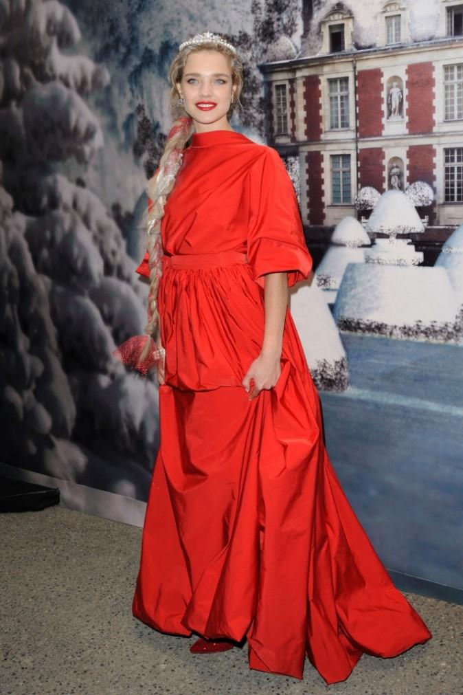 Natalia Vodianova hors sujet au White Fairy Tale bal