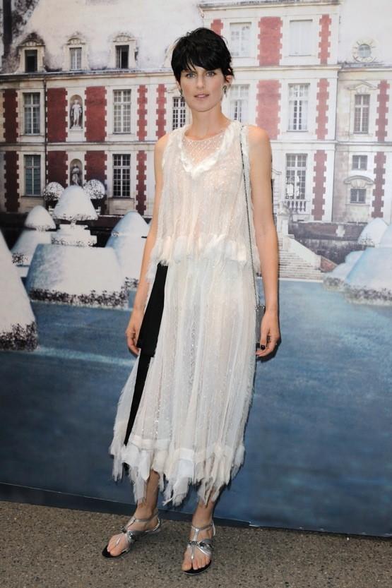Stella Tennant au White Fairy Tale bal