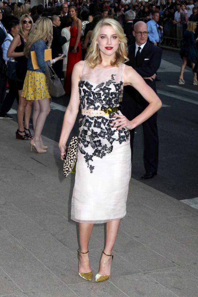 Amber Heard lors des CFDA Fashion Awards