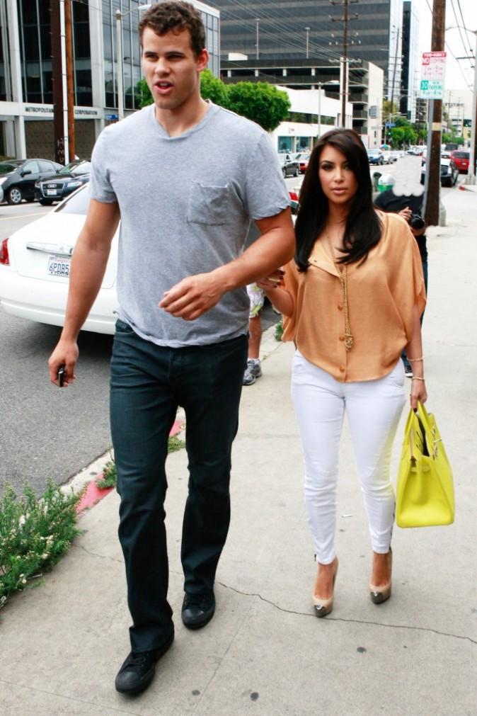 2011: A Miami avec son ancien chéri Kris !