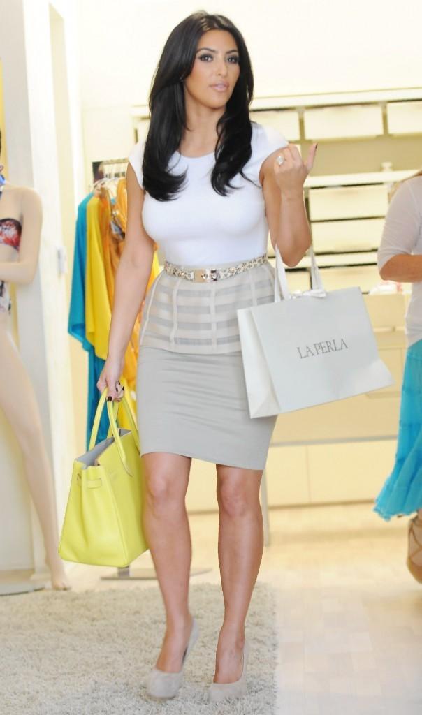 2011: Dans sa boutique de LA !