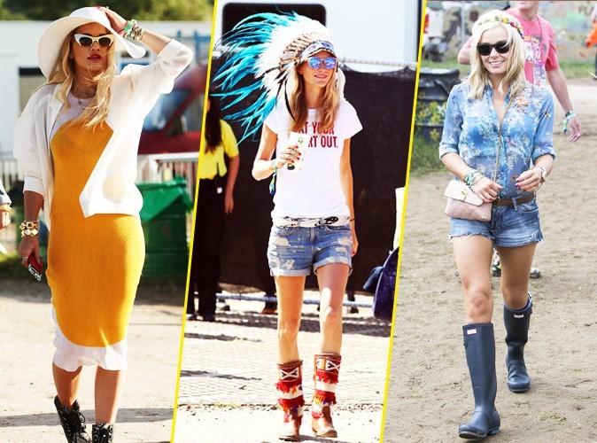 Découvrez les looks que les stars ont adopté au Festival de Glastonbury !