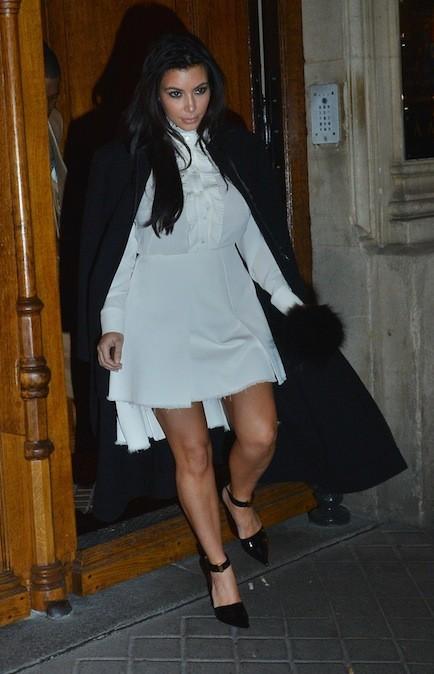 Kim Kardashian, le 11 janvier 2013