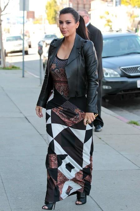 Kim Kardashian, le 27 février 2013