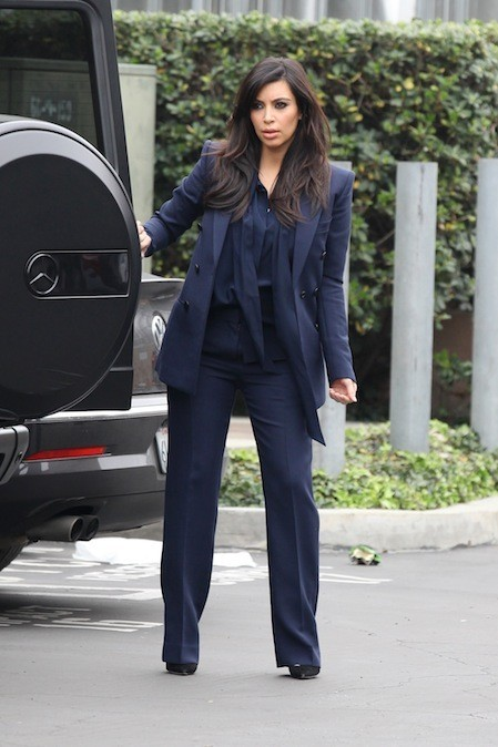 Kim Kardashian, le 5 février 2013