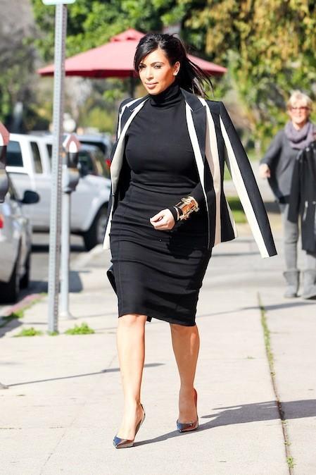 Kim Kardashian, le 6 février 2013