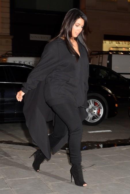 Kim Kardashian, le 8 janvier 2013