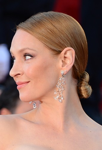 Uma Thurman, le dimanche 26 mai 2013 au Festival de Cannes !