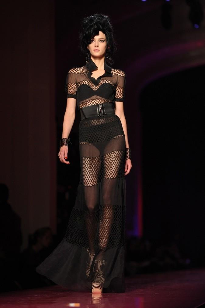 Défilé Haute Couture Jean Paul Gaultier pour la collection printemps-été 2012