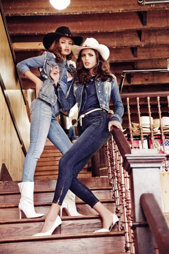 Gigi Hadid : rhabillée elle joue la cowgirl pour Guess !