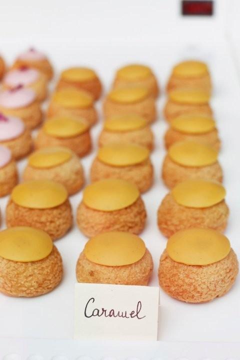 Choux au caramel Popelini