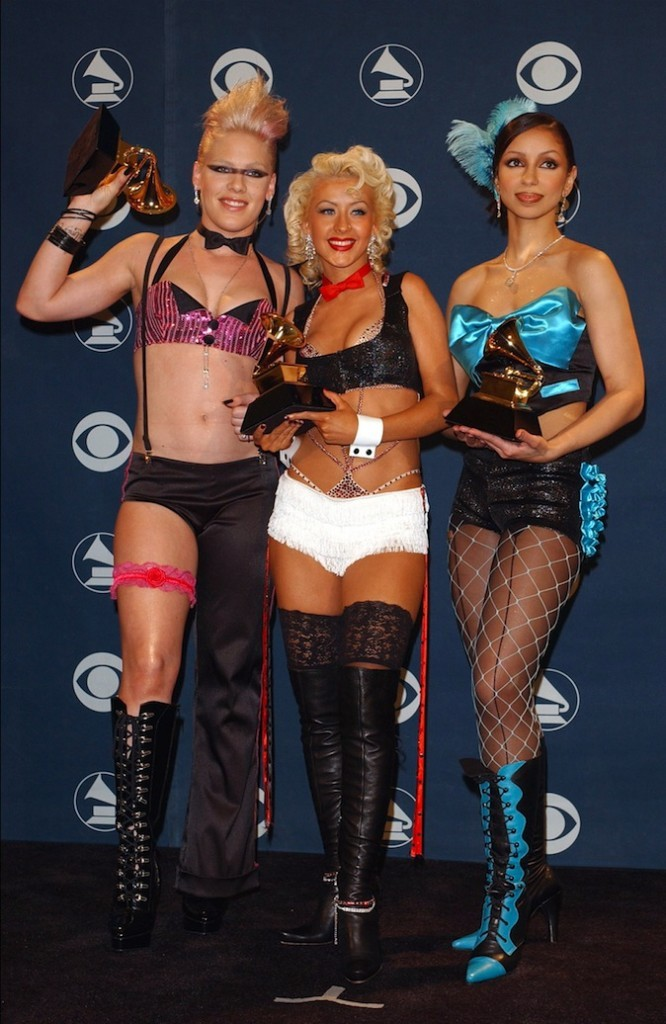 Pink, Christina Aguilera et Mya