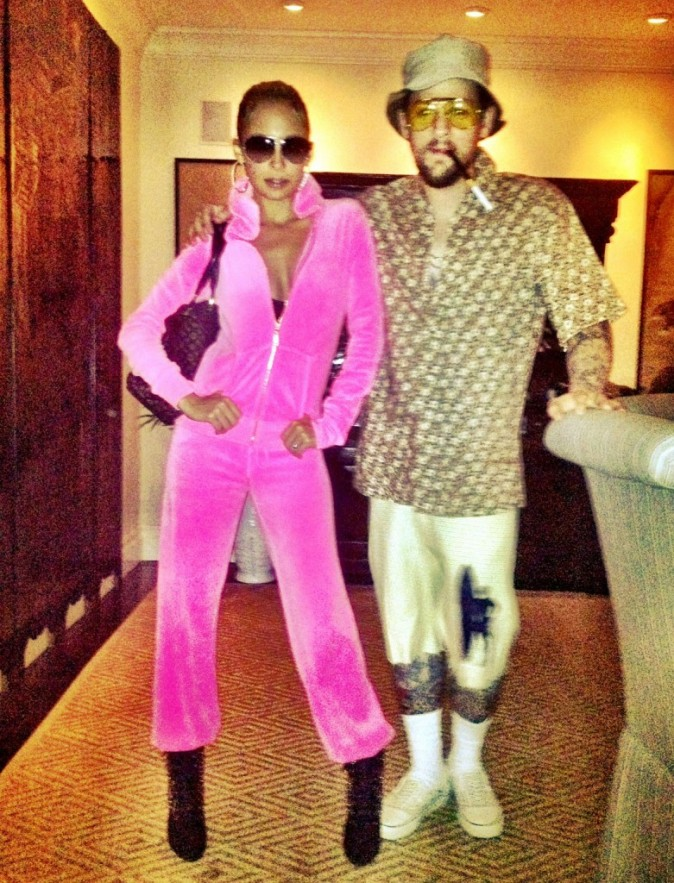 Nicole Richie et Joel Madden, ringards pour Halloween