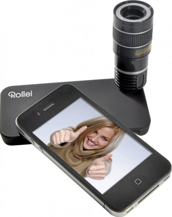 Téléobjectif pour Iphone iTele 8x de Rollei